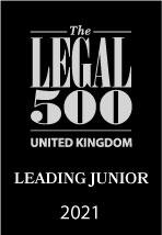 The Legal 500 - UK Leading Junior 2021