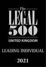 The Legal 500 - UK Leading Individual 2021